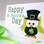 Patrick's day card, Lucky y..